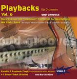 Playbacks für Drummer Vol.6 - Odd Grooves (von Martin Häne/ Tunesday-Bestellnummer: GI115)
