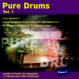 Pure Drums Vol. 1 - Jazz Grooves 1  (Tunesday-Bestellnummer: GI109)