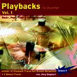 Playbacks für Drummer Vol.1 - Rock-, Pop-, Funk- & Fusion-Grooves (von Jörg Sieghart / Tunesday-Bestellnummer: GI105)