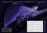Tabulatur TAB-Block im Pocket-Format mit Diagrammen (Tunesday Bestellnummer: TB01)