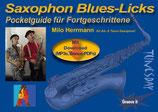 Saxophon Blues-Licks - Pocketguide für Fortgeschrittene (von Milo Herrman / Tunesday-Bestellnummer: TPG04)