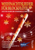 Weihnachtslieder für Blockflöte (Tunesday-Bestellnummer: TUN12)