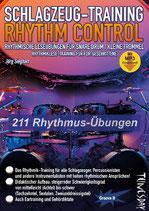 Schlagzeug-Training - Rhythm Control (von Jörg Sieghart / Tunesday-Bestellnummer: TUN19)