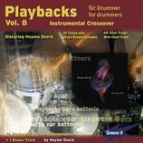 Playbacks für Drummer Vol.8 - Instrumental Crossover (von Haymo Doerk/ Tunesday-Bestellnummer: GI120)