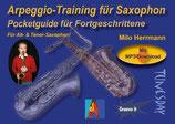 Arpeggio-Training für Saxophon - Pocketguide für Fortgeschrittene (von Milo Herrmann / Tunesday-Bestellnummer: TPG10)