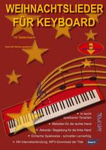Weihnachtslieder für Keyboard (von Till Tastenmann /Tunesday-Bestellnummer: TUN34)