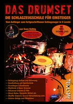 Das Drumset Premium Edition - die Schlagzeugschule für Einsteiger (von Sven Helbig / Tunesday-Bestellnummer: TUN15 PE)