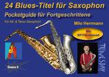 24 Blues-Titel für Saxophon - Pocketguide für Fortgeschrittene (von Milo Herrmann / Tunesday-Bestellnummer: TPG09)