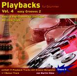 Playbacks für Drummer Vol.4 - Easy Grooves 2 (von Martin Häne / Tunesday-Bestellnummer: GI111)