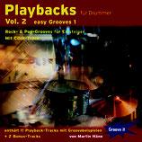 Playbacks für Drummer Vol.2 - Easy Grooves 1 (von Martin Häne / Tunesday-Bestellnummer: GI107)