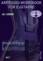 Arpeggio-Workbook für E-Gitarre (von Jil Y. Creek / Tunesday Bestellnummer: TUN36))