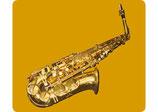 Mouse Pad Saxophon (Tunesday-Bestellnummer: TMP05-O)
