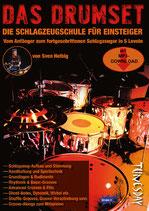 Das Drumset - die Schlagzeugschule für Einsteiger (von Sven Helbig / Tunesday-Bestellnummer: TUN15)