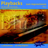 Playbacks zum Improvisieren Vol.3 - Blues (von Jörg Sieghart / Tunesday-Bestellnummer: GI110)