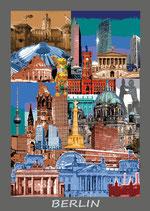 Berlin Poster Fotodruck 60x85 cm (BPL01)