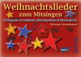 Weihnachtslieder zum Mitsingen - Pocketguide mit Liedtexten, Akkordsymbolen & Gitarrengriffen (von Nikolaus Tannenbaum / Tunesday-Bestellnummer: TPG12)