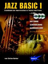 Jazz Basic 1 - Grundlagen der Improvisation in Theorie und Praxis (von Stefan Berker / Tunesday-Bestellnummer: JB01)