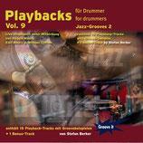Playbacks für Drummer Vol.9 - Jazz-Grooves 2 (von Stefan Berker/ Tunesday-Bestellnummer: GI121)