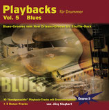 Playbacks für Drummer Vol.5 - Blues (von Jörg Sieghart / Tunesday-Bestellnummer: GI112)