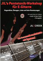 Jil`s Pentatonik Workshop für E-Gitarre (von Jil Y. Creek / Tunesday-Bestellnummer: TUN06)