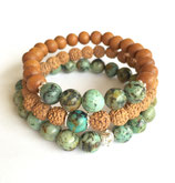 African Turquoise Bracelets