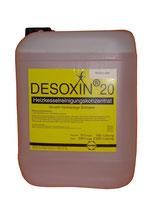 DESOXIN 20 Flüssig-Heizkesselreiniger, für sehr hartnäckige Schlacke