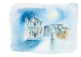 Le striare di Giurdignano / The Witches of Giurdignano tower •  illustrazioni di Chiara Fremura • dal libro Cùntame nu cuntu / Tell me a story, di Annamaria Gustapane