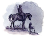 Zinzulusa / Zinzulusa •  illustrazioni di Arianna Fremura • dal libro Cùntame nu cuntu / Tell me a story, di Annamaria Gustapane
