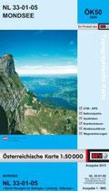 Karte - Mondsee - ÖK50
