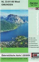 Karte - Gmunden - ÖK25V