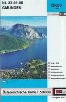 Karte - Gmunden - ÖK 1: 50 000