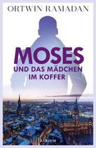 Moses und das Mädchen im Koffer - signiert