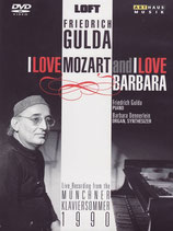 DVD - Gulda - I love Mozart and I love Barbara