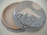 鼠志野 菓子鉢