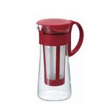 HARIO Water Brew Coffee Pot Red, für Coldbrew
