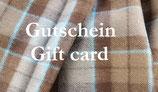 Gutschein / Giftcard