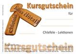 """Kursgutschein """"Einzellektion"""""""