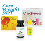 SUNRIDER LOSE WEIGHT SET