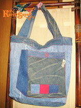 ◆リサイクルデニム トートバッグA