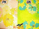 ◆インド綿ジニアクッションカバーGN