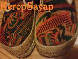 ◆山岳民族刺繍サボサンダルS
