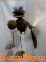 ◆羽根付カエルモビール
