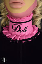 NECKBAND pink DOLL