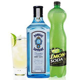 GIN LEMON KIT BOMBAY
