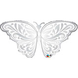Ballon Alu Qualatex Papillon de Mariage
