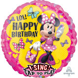 Ballon Alu Anagram Jumbo Chantant Minnie
