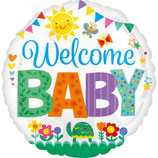 Ballon Alu Anagram - Welcome Baby Cute Icons