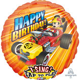 Ballon Alu Anagram Jumbo Chantant Mickey Roadster Racer