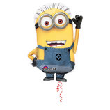 "Ballon Alu Anagram Shape ""Minion"""