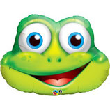 Ballon Alu Qualatex Grenouille